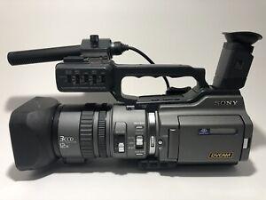 Sony DSR PD150  Digital Camcorder 3CCD DVCAM Mini DV For Parts or Repair