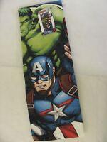 "Marvel Avengers Heroes Beach Towel 28"" x 58"" 100% Cotton Swimming"