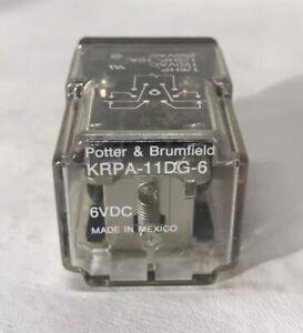 Potter Brumfield KRPA-11DG-6 Relay