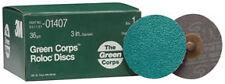 "3M 1407 - Green Corpsa?? Roloca?? Disc 01407 3"" 36YF 25 discs/bx"