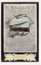 THE PEOPLE'S JOURNAL? TAY BRIDGE, DUNDEE: Angus postcard (C11885)