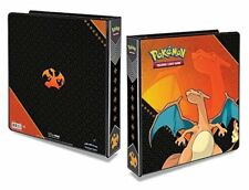 Pokemon Charizard 3-Ring Binder with 25 Platinum Ultra-Pro 9-Pocket Pages
