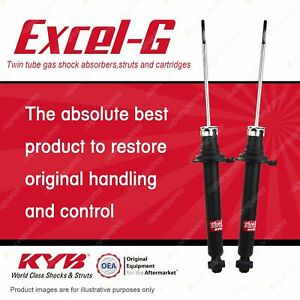 2 x Rear KYB Excel-G Shock Absorbers for Honda Legend KA9 3.5 FWD Sedan