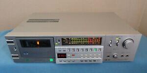Akai GX-F66RC Cassette Deck, Japanese, See Video !