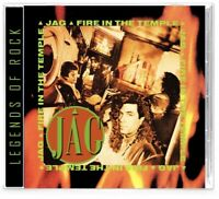JAG - Fire In the Temple (CD) AOR Hard Rock, WhiteHeart, GIANT 🔥2020 Girder