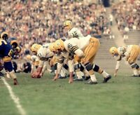 1950's Original Photo Transparency BART STARR Green Bay Packers HOF in COLOR !
