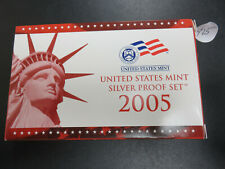 2005 Proof Silver Set in Package w/COA