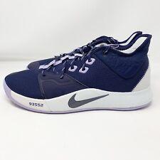 Nike PG 3 Paulette Size 12 Men's Basketball Shoes Purple 2019 - AO2607-901