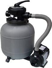 Sandfilter Anlage E 3 Filter für Schwimmbecken Pool bis 20.000 Lt