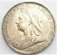 Victoria 1897 Crown LXI Unc