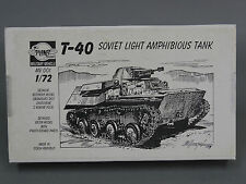 1/72 Planet Models T-40 RUSSIAN SOVIET AMPHIBIOUS TANK Resin Model Kit #a4