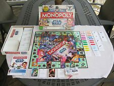 Star Wars Monopoly The Clone Wars  Galactic Property Game Hasbro 2008 Complete!