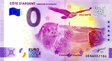 40 LÉON Côte d'Argent, 2021, Anniversaire, Billet Euro Souvenir