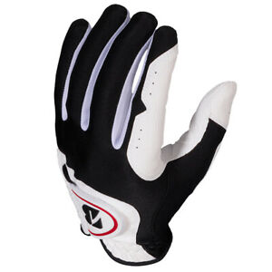 Bridgestone Men's EZ Fit White Golf Gloves (3-Pack) NEW