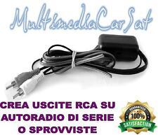 CONVERTITORE TRASFORMATORE RCA ALTO LIVELLO BASSO BLT LEVEL AUDIO HI FI CAR