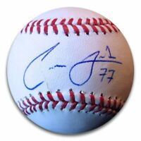 Carlos Frias Signed Autographed Baseball Los Angeles Dodgers #77 w/COA