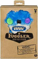 Fuggler Funny Ugly Monster Medium Plush Brown, Dark Blue, Light Blue, Yellow