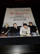 Foo Fighters Breakout Rare Original Radio Promo Poster Ad Framed! #3