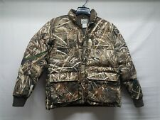 Drake Waterfowl LST Goose Down Jacket Max 5 Camo Small duck hunting banded avery
