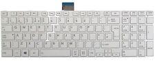 New Toshiba Satellite C850 C855 C850D C870 L850 L855 L870 L875 White UK Keyboard