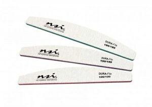 NSI Dura Files 3 x 150 Grit Gel / Acrylic Nails, Nail Files
