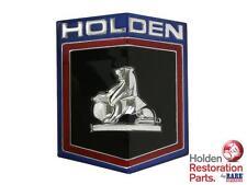 HOLDEN HQ GRILLE BADGE EMBLEM INSERT NEW RARE SPARES BRISBANE QUEENSLAND