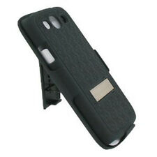 PRO-TECT Samsung Galaxy S3 Shell-Holster Combo Case with Kick Stand (Black)
