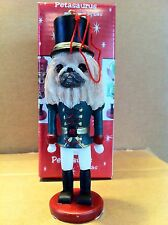 Pekingese ~ Nutcracker Dog Soldier Ornament #61