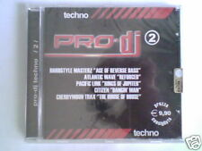 CD PRO-DJ 2 TECHNO HARDSTYLE MASTERZ ATLANTIC WAVE