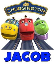 Chuggington TShirt CUSTOM Personalize Birthday gift favor Trains