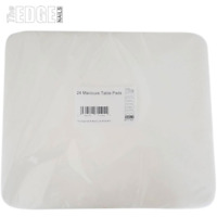 The Edge Nails 24x Plastic Backed Manicure Table Pads Manicure Treatment Comfort