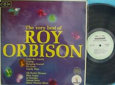 Roy Orbison ORIG OZ LP Very best of VG+ '66 Pop Rock Monument SPL932118