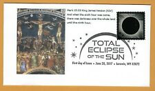 Crucifixion of Christ Eclipse. Total Solar Eclipse of the Sun. FDC