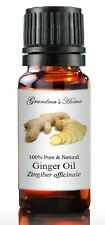 Ginger Essential Oil - 10 mL 100% Pure and Natural Free Shipping - US Seller