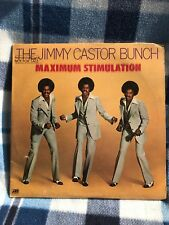 Jimmy Castor Bunch Maximum Stimulation Promo Stamp Vinyl LP