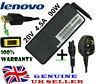 Genuine Lenovo Thinkpad x1 Carbon N3N72UK Ultrabook Adapter Charger 90W + Cable