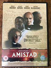 Anthony Hopkins Matthew McConaughey AMISTAD  1997 Spielberg Slavery Drama UK DVD
