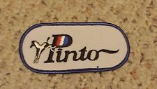 Vintage Ford Pinto Drag Racing Car Patch