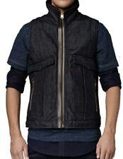 G-Star Raw Mens Oregon 82650C Gilet Bodywarmer Jacket Denim Blue Medium RRP £150