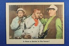 1959 Fleer - 3 Stooges - #83 Is there a doctor in the house? - Nr-Mt