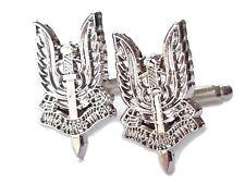 SAS Cufflinks Special Air Service Silvered