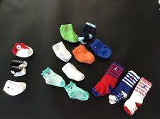 100% Auth Lauren, JORDAN, Hilfiger, Converse 14 X Baby Designer Socks With Logo.