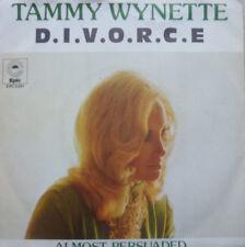 """7"""" 1975 REAL KULT IN MINT- ! TAMMY WYNETTE : Divorce ( D.I.V.O.R.C.E. )"""