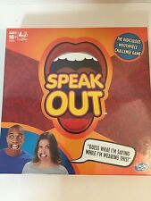 NEW Speak Out: The Ridiculous Mouthpiece Challenge Game By Hasbro