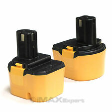 2 x NEW 12V 2.0AH 2000mAh Ni-CD Battery for Ryobi 1400652 1400670