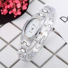 Fashion Women's Ladies Watches Crystal Stainless Steel Analog Quartz Wrist Watch