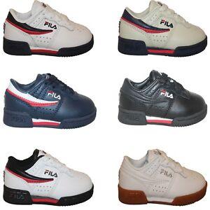 Toddler Infants Boys Fila ORIGINAL FITNESS Casual Retro Classic Athletic Shoes
