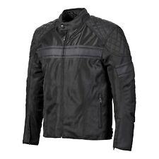 Triumph Waldron Black Mesh Textile Motorcycle Jacket NEW MTHS19116