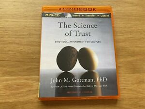 CD MP3 Audio Book – The Science of Trust by John Gottman