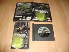 SPLINTER CELL 1 TOM CLANCY'S PARA LA NINTENDO GAME CUBE USADO COMPLETO